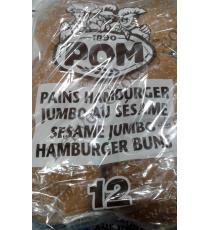 POM de Sésame Jumbo Pains à Hamburger, 2 x 12