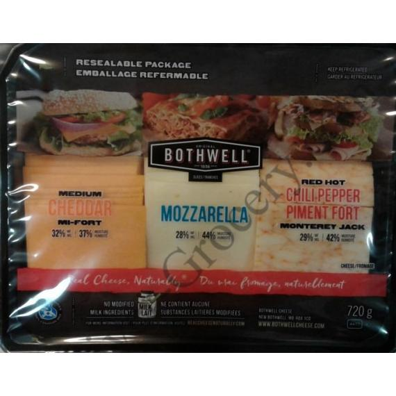 BOTHWELL Tranches de Fromage, 720 g
