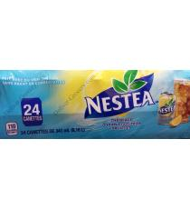 Nestea Citron Naturel Saveur Ice Tea Canettes, 24 x 341 ml