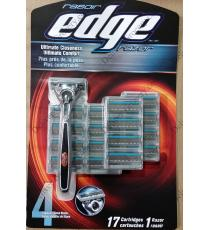 Edge Razor with 17 Cartridges