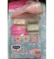 Schick Intuition Variety Pack, Razor with 13 Cartridges