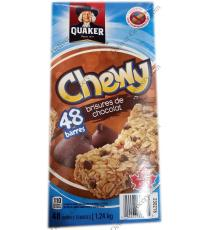 Quaker Chewy Chocolate Chips, 48 x 26 g