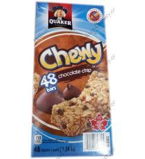 Quaker Chewy pépites de Chocolat, 48 x 26 g