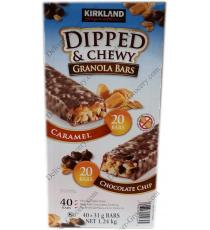 Kirkland Signature Dipped & Chewy Granola Bars, 1.24 kg