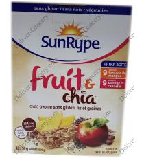 SunRype de Fruits Et de Chia, 18 x 50 g