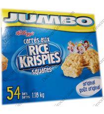 Kelloggs Jumbo Rice Krispies Squares, 54 x 22 g 1.18 kg