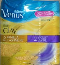 Gillette Venus & Olay Razors, 8 cartridges / 1 razor, , 4 x 238 g