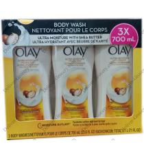 OLAY Body Wash, 3 x 700 ml