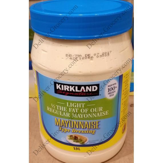 Kirkland Signature De Mayonnaise Légère, 1,9 L