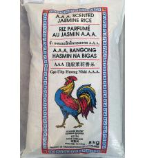 Rooster, A.A.A. Scented Jasmine Rice, 8kg