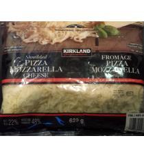 Kirkland Pizza déchiquetée Mozzarella Fromage, 2 x 625 g