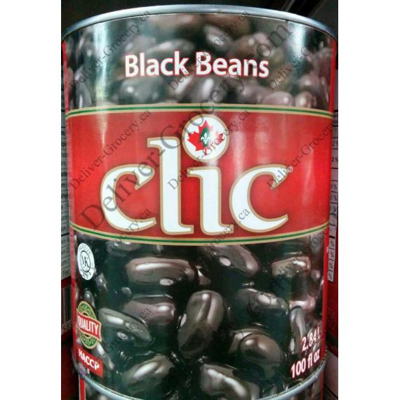 Clic Black Beans, 6*2.84 L