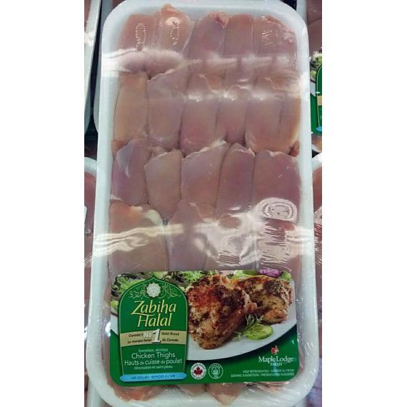 Chicken Thighs 2kg, (+/- 50gr)