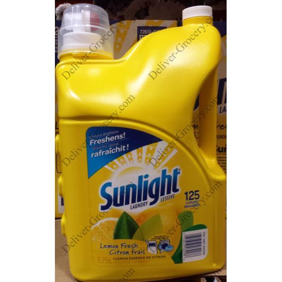 Sunlight Laundry Detergent, 5.75 L
