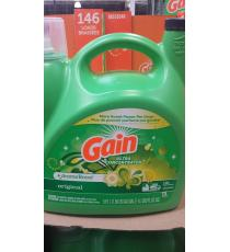 Gain Liquid Laundry Detergent, 5.91 L 146 Wash Loads