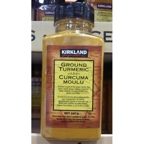 Kirkland Signature Ground Turmeric, 340 gr