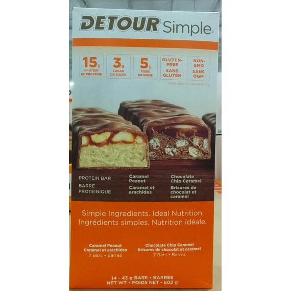 Detour Simple Variety Pack, 14*43 gr