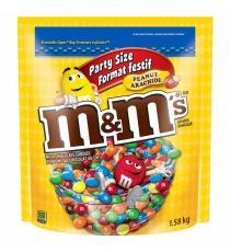 M&M's, Peanut, 1.58 kg (3.48 lb)