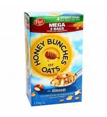 Bouchées d'avoine au miel et aux amandes, 1,4 kg