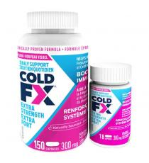 COLD-FX Extra Strength 300 mg - 150 + 18 capsules