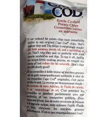Cap Code de la Marmite Cuit Chips de pommes de terre 680 g