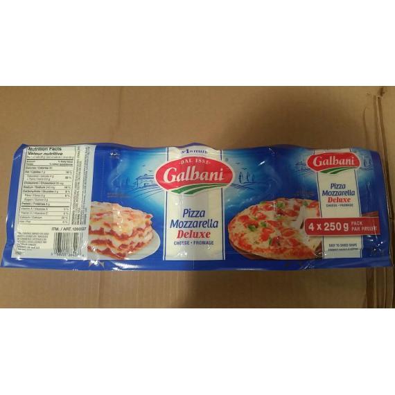 Galbani Pizza Mozzarella Deluxe Cheese 22% 4 X 250 gr