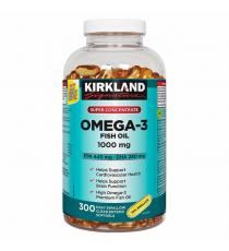Kirkland Signature Super Concentrate Omega-3 Fish Oil, 300 Softgels