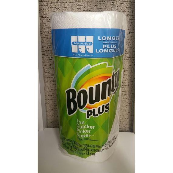 Bounty Plus Paper Towels One Roll