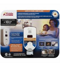 Kidde Plug-in Digital Carbon Monoxide Alarm with Voice Warning