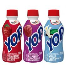 Yoplait Yop Drinkable Yogurt 15 × 200 mL