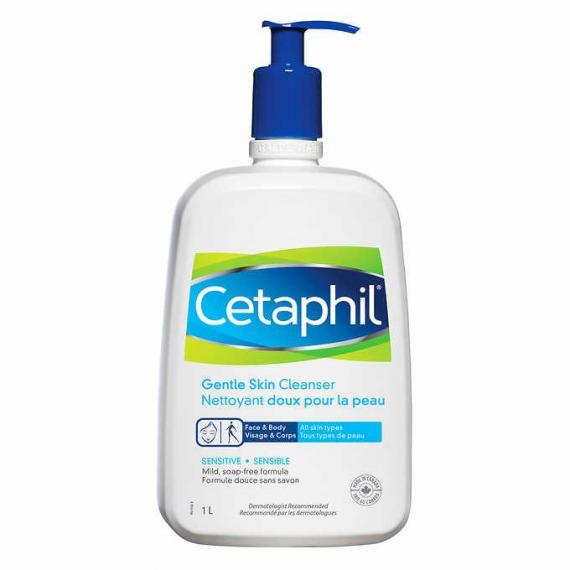 Cetaphil Sensitive Gentle Skin Cleanser, 1 L
