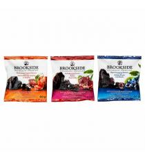 Chocolat noir Brookside, saveurs variées, 40 × 20 g (0,70 oz)