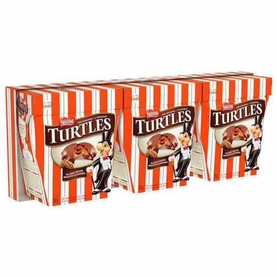 Turtles Original, 200 g (7 oz), 3-boxes