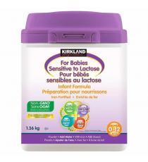 Préparation pour nourrissons Kirkland Signature pour bébés sensibles au lactose, 1,36 kg