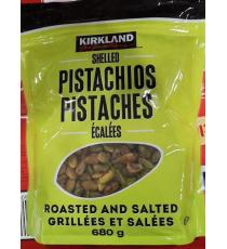 Kirkland Signature Shelled Pistachios, Roasted and salted 680 g
