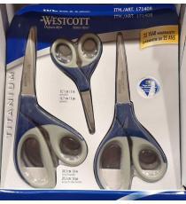 Westcott Titanium Scissors, 3-pack