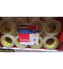 3M RUBAN SCOTCH D'EMBALLAGE 880M PAQUET DE 8