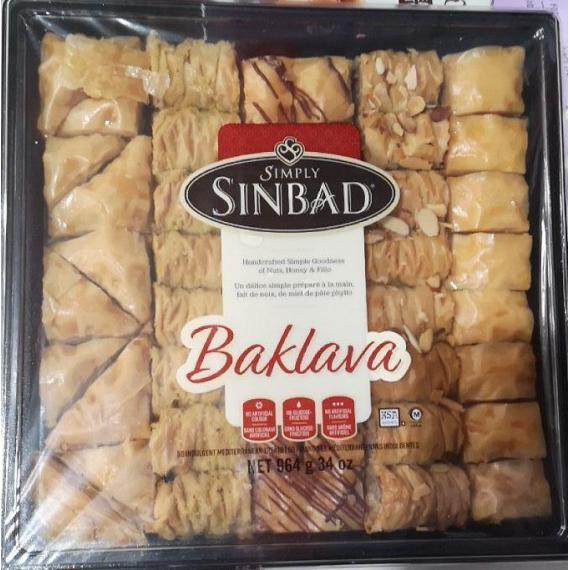SINBAD FOODS BAKLAVA 964 g