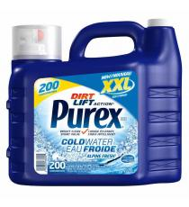 Purex Cold Water Laundry Detergent, 9.24 L, 200 Wash Loads