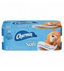 Papier hygiénique 2 couches Charmin Ultra Soft, 221 feuilles, paquet de 30