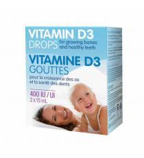 webber naturals® Gouttes de vitamine D3 - 2 x 15 ml