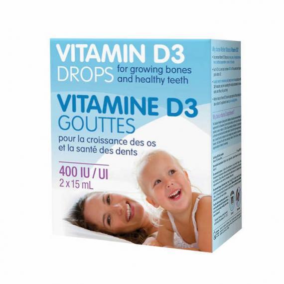 webber naturals® Vitamin D3 Drops - 2 x 15 ml