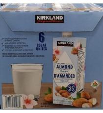KIRKLAND SIGNATURE Amandes Originales Bio, 6 x 946 ml