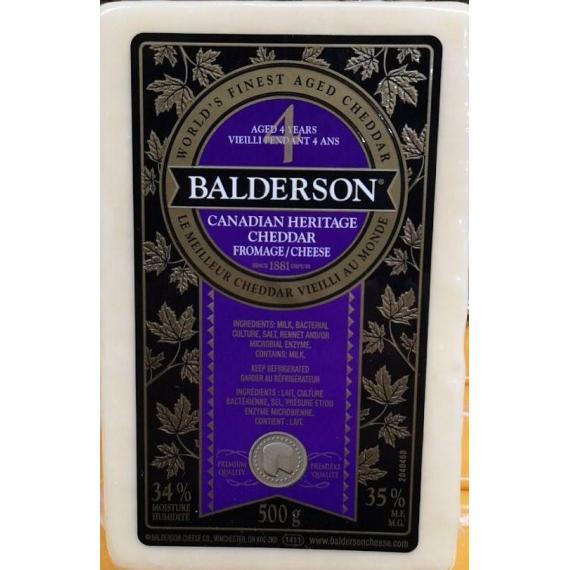 BALDERSON Aged Cheddar 4 Years 500g