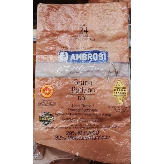 AMBROSI Grana Padano Hard cheese 1kg +/- 50g
