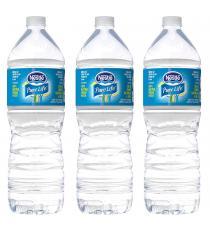 Nestlé Pure Life De 100% d'Eau de source Naturelle 3 x 1,5 L