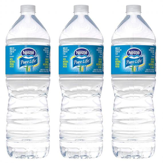 Nestlé Pure Life %100 Natural Spring Water 3 x 1.5 L