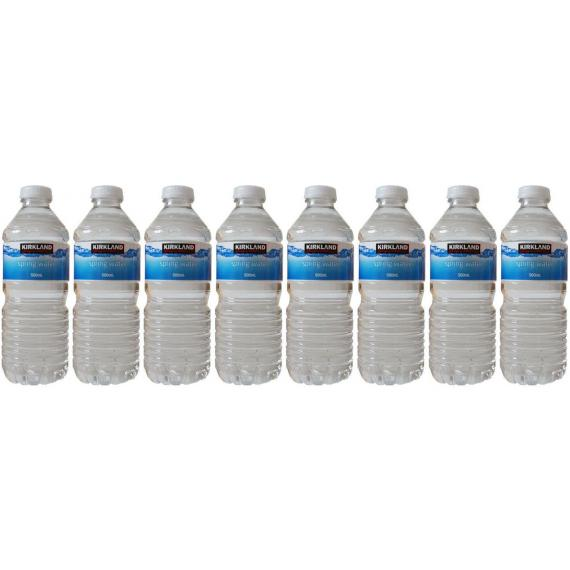 Kirkland Signature Natural Spring Water 8 x 500 ml