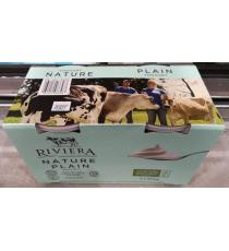 RIVIERA YOGOURT FERME NATURE SANS OGM 2 X 975 g