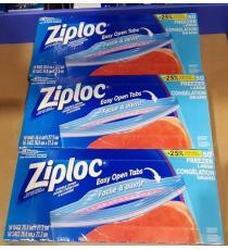 Ziploc 3 x 50 Large Freezer Bags